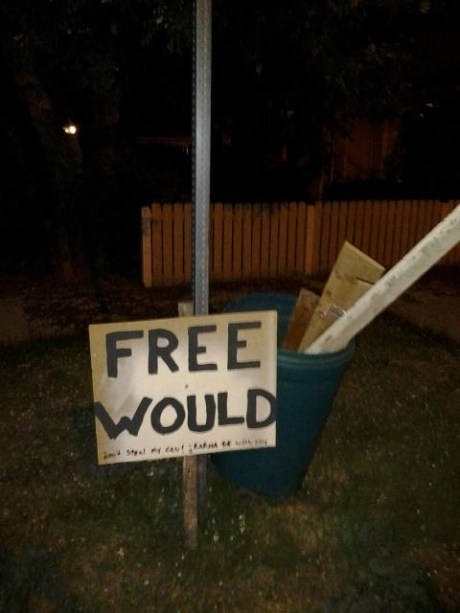 would,free wood,wood,spelling