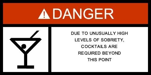 sign booze cocktails funny - 7562477568