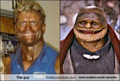 tan,movies,totally looks like,goombas,funny