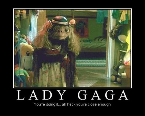 costume ET lady gaga funny - 7562514176