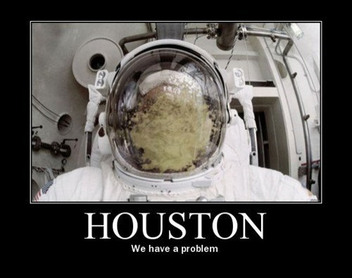astronaut,houston,throw up,funny