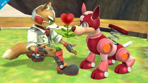E32013 fox mccloud super smash bros wii U rush - 7562559744