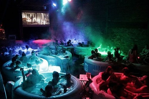hot tub,design,movie theater