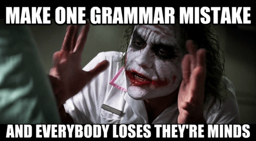 grammar everybody loses their minds the joker joker mind loss - 7562873088