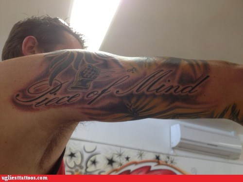 text tattoos funny - 7562954496