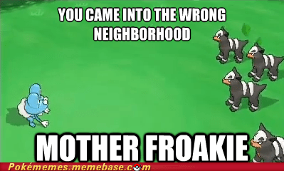 Pokémon hordes gameplay battles froakie