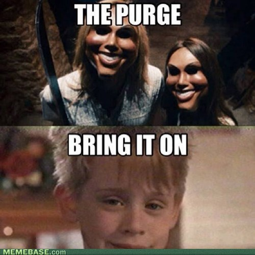 the purge,Home Alone,movies