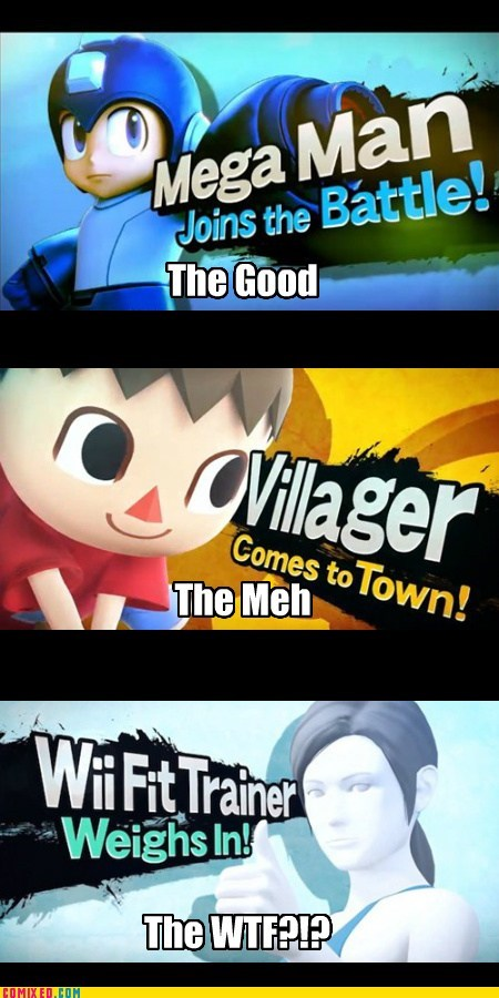 super smash bros Videogames mega man funny - 7563661312