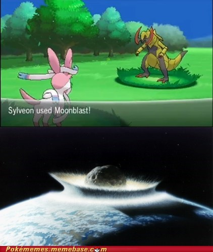 Pokémon sylveon moonblast fairy types game over - 7564014592
