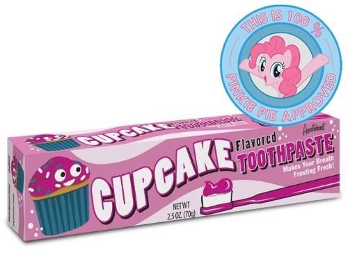 pinkie pie cupcakes toothpaste - 7564240640