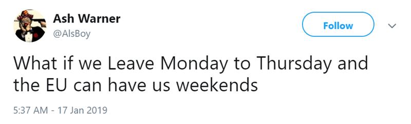 brexit British UK funny tweets - 7564293