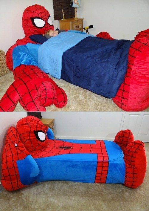 kids cute for sale beds Spider-Man - 7564994048