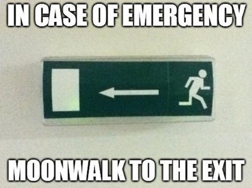 emergency exits sings funny - 7565049344