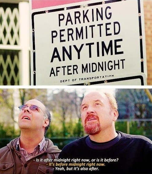 louis ck,TV,parking