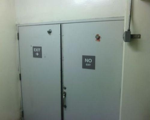no exit,exit