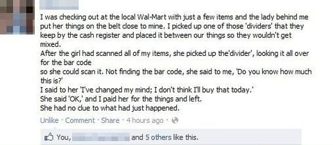 check out line cashier check out line cashier Walmart Walmart failbook g rated - 7565291008
