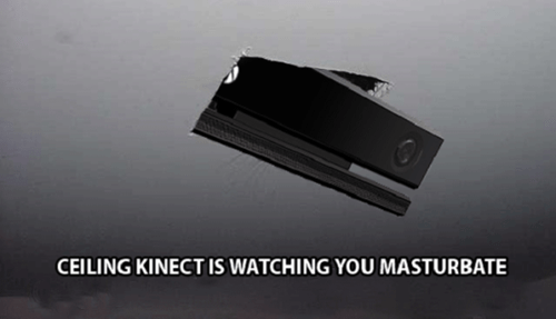 E32013 ceiling cat Memes kinect xbox one - 7565310720