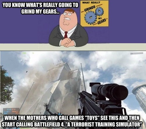 E32013 the media grinds my gears Battlefield 4 Memes video games - 7565311744