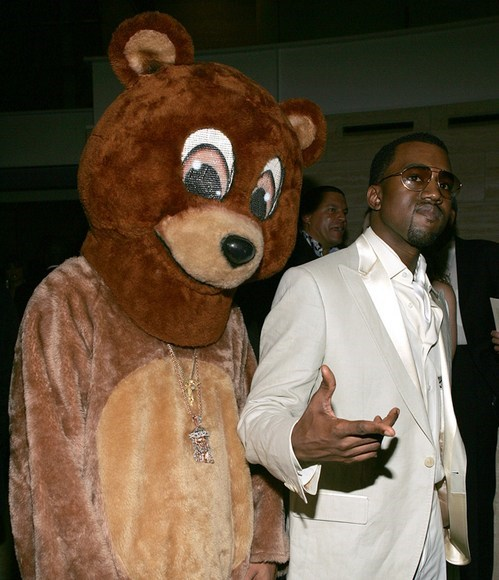 Music,kanye,dropout bear,funny