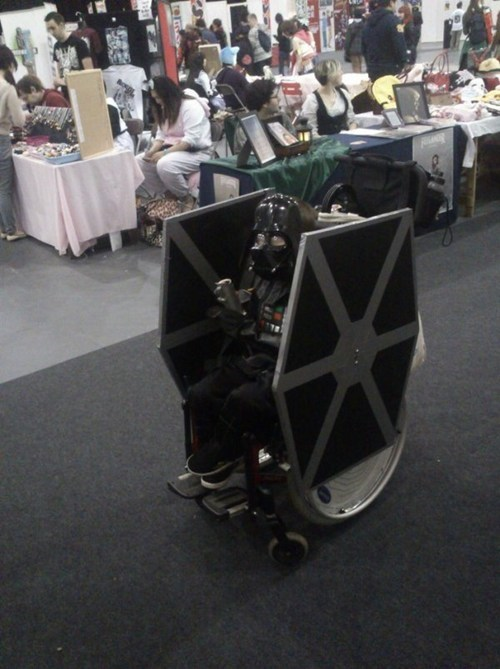 star wars nerdgasm wheelchair g rated win - 7565759744
