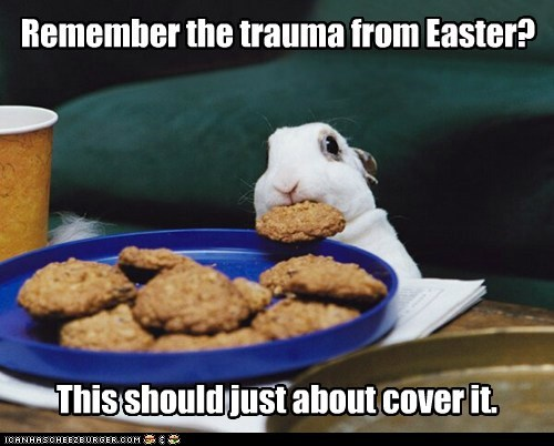 Remember the trauma from Easter? This should just about cover it.
