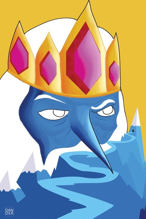Fan Art,cartoons,ice king,adventure time