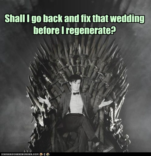 red wedding crossover Game of Thrones doctor who - 7566928128