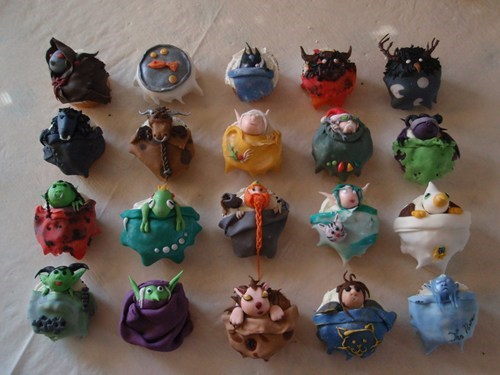 world of warcraft cute cupcakes noms video games - 7567024640