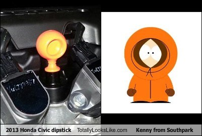 orange,Kenny,South Park,totally looks like,funny