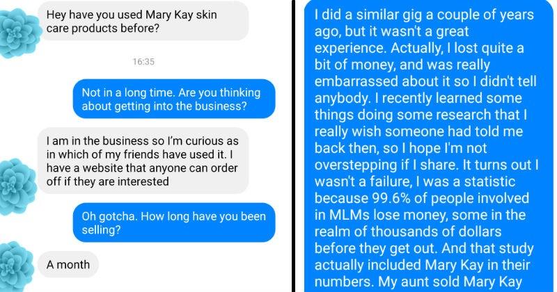 mlm beauty product helpful friends facebook social media win - 7568389