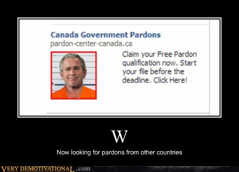 wtf pardons internet funny george w - 7568417024