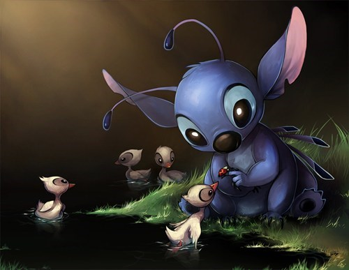 disney Fan Art lilo and stitch cartoons - 7568439808