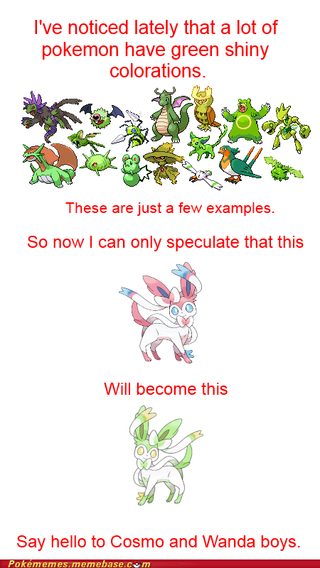 sylveon shinies Fairly Oddparents