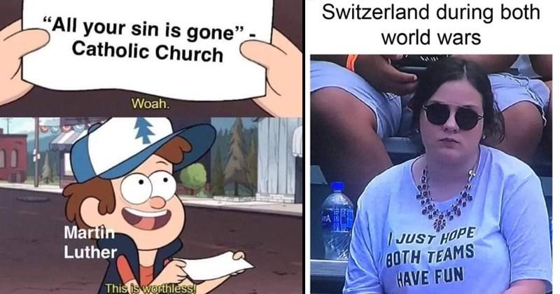 history memes, world wars, europe, world history