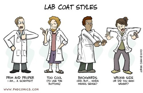 lab coat style science funny - 7568667904