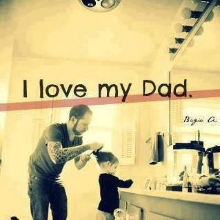 dads,hairdos,daughters,love,funny