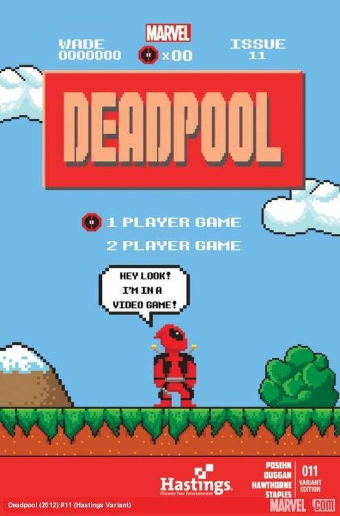 deadpool superheroes video games funny - 7568899072