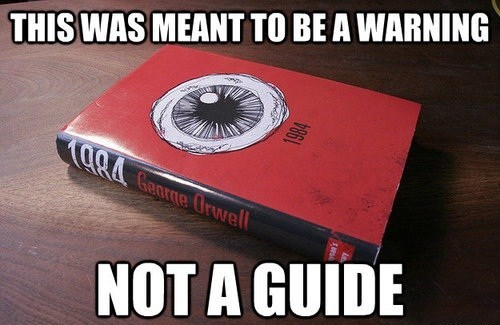 NSA george orwell 1984 books - 7569014528