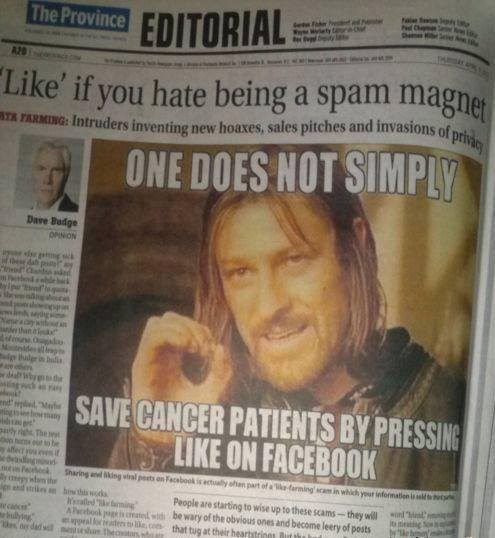 one does not simply newspapers Memes