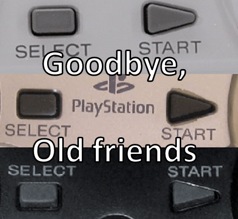 start,playstation,rip,select