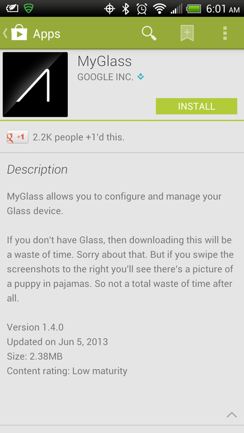 puppies apps funny google glass - 7569521920
