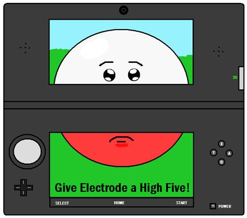 electrode pokemon-amie 3DS nintendo - 7569525760