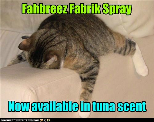 Fahbreez Fabrik Spray Now available in tuna scent