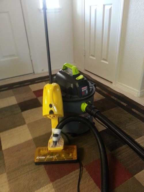 vacuum cleaner Kludge funny vacuum there I fixed it - 7570086912