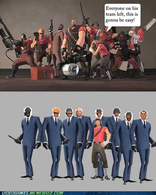 pcs Team Fortress 2 spies