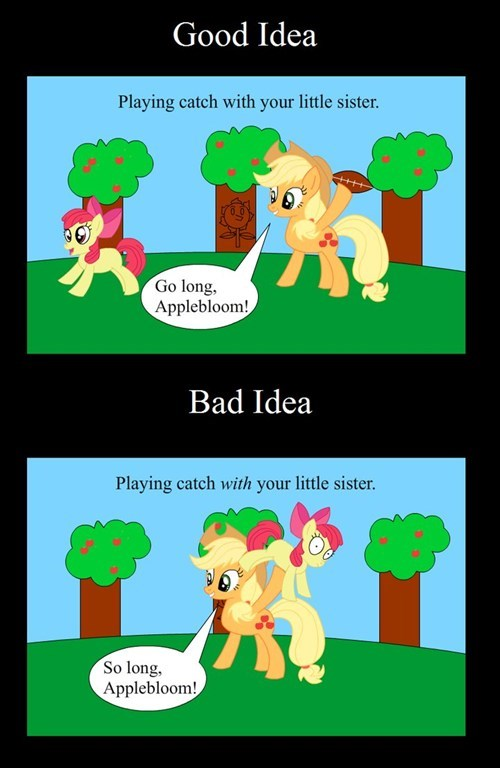 applejack apple bloom wordplay - 7570173696