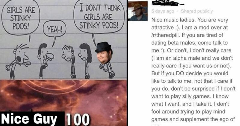 Funny and cringey neckbeard memes, justneckbeardthings.
