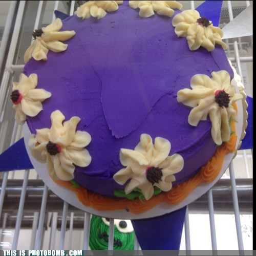 cake photobomb funny - 7570898688