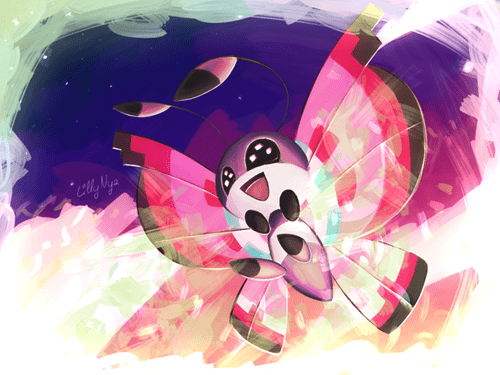 Pokémon,art,vivillon