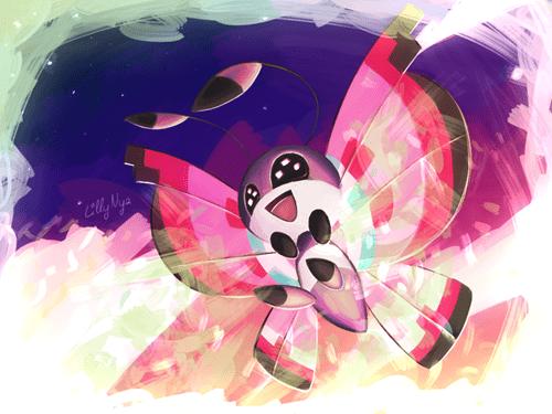 Pokémon art vivillon - 7571205632